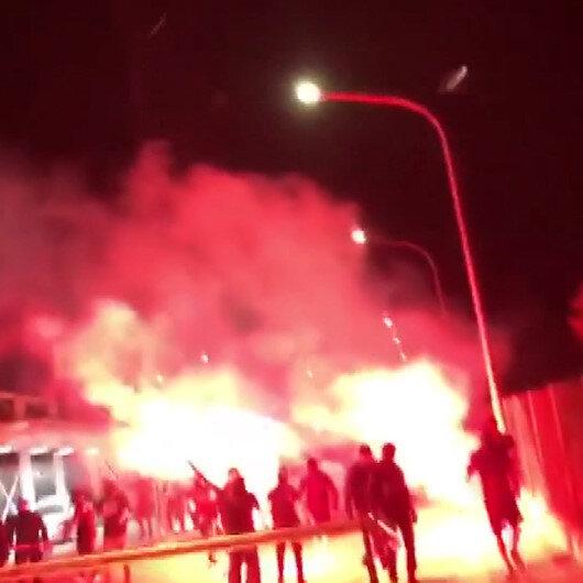 Rumlar'dan KKTC'de alçak provokasyon: Maraş'a girmeye kalkıp yangın çıkardılar