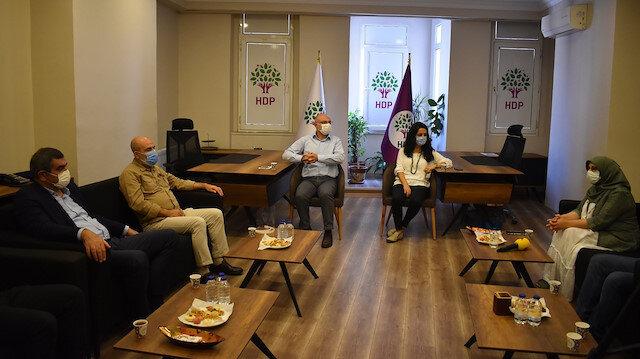 CHP'den HDP'ye dayanışma ziyareti: İktidarın değişmesi için ortak mücadele şart