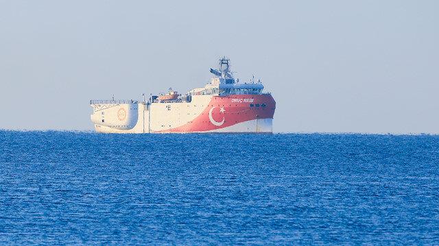 Oruç Reis, yeni NAVTEX ilanının ardından Antalya Limanı'ndan ayrıldı