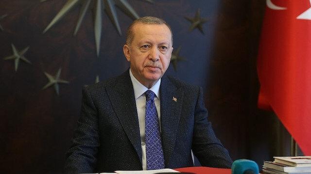 Cumhurbaşkanı Erdoğan'dan Ankara'nın başkent oluşunun yıl dönümü mesajı