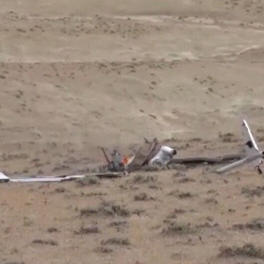 Azerbaycan Savunma Bakanlığı, Ermenistana ait üç İHAnın düşürüldüğünü bildirerek görüntülerini yayınladı