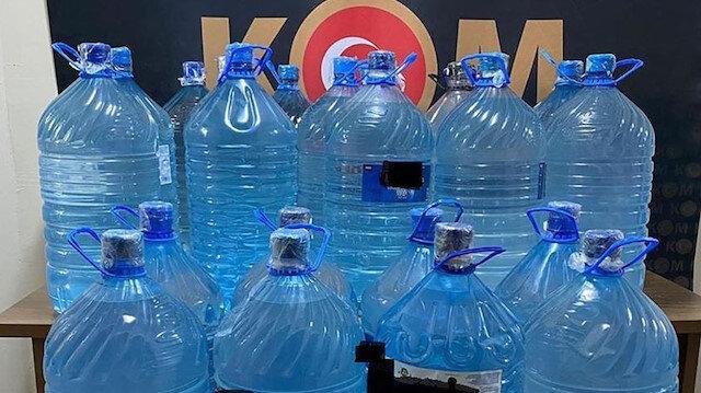 Emniyet: Sahte/kaçak içki ölümleri sonrasında 16 bin 737 litre etil alkol ele geçirildi