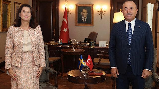 Dışişleri Bakanı Çavuşoğlu'ndan İsveçli Bakan'a Yunanistan tepkisi