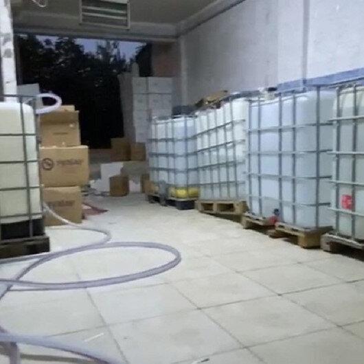 Avcılarda  6 ton kaçak içki ele geçirildi