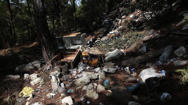 Tam bir çevre katliamı: Bursa'da ormanı çöplüğe çevirdiler