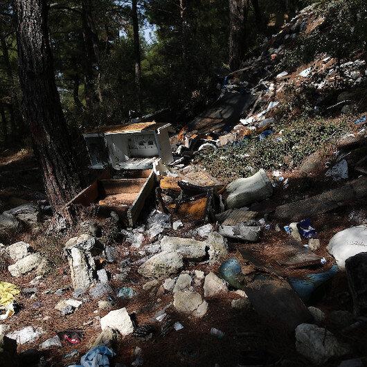 Tam bir çevre katliamı: Bursada ormanı çöplüğe çevirdiler