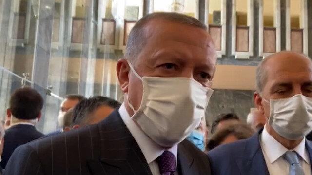 Cumhurbaşkanı Erdoğan'dan AYM Üyesi Yıldırım'ın 'Işıklar yanıyor' paylaşımıyla ilgili açıklama