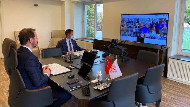 Bakan Albayrak: Küresel ekonomik toparlanma için mutabık kalındı
