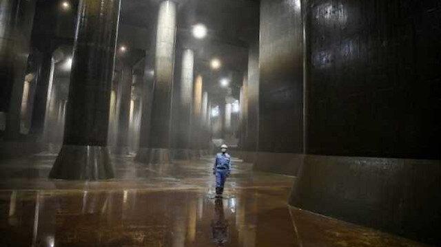Tokyo'nun 'Yerebatan Sarnıcı' açıldı: Türünün en büyük örneği