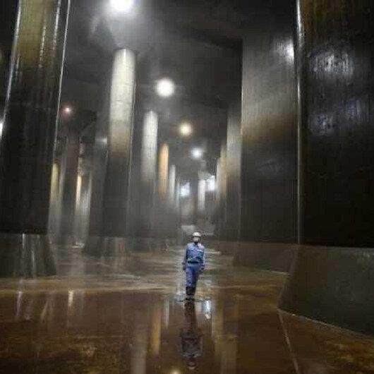 Tokyonun Yerebatan Sarnıcı açıldı: Türünün en büyük örneği