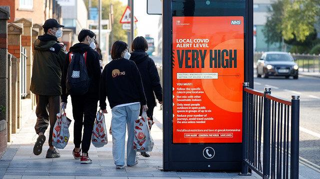 İngiltere'de koronavirüs önlemleri yüksek tehdit seviyesine çıkarılıyor