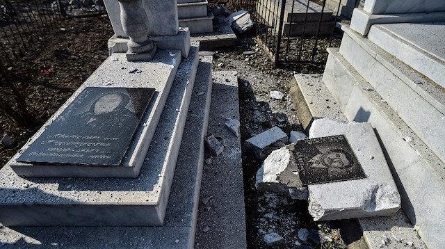 Ermenistan cenaze töreni sırasında mezarlıktaki sivilleri vurdu