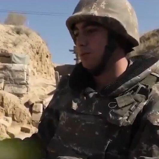 Ermenistan askerlerindeki moral-motivasyon çöküntüsü kamerada: Ne diyebilirim ki öyle veya böyle bitecek