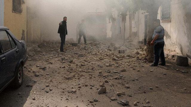 İran'ın Azerbaycan-Ermenistan sınırı yakınlarındaki iki köye roket düştü