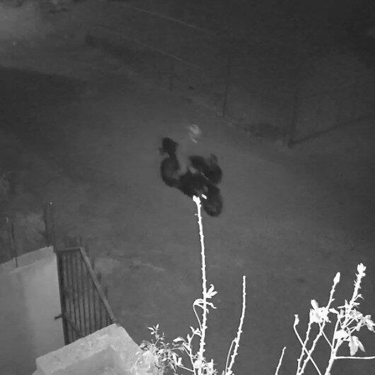 Hatayda gece vakti evin önündeki 75 bin liralık motosikleti böyle çaldılar