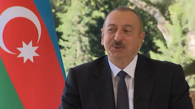 Aliyev'den Fransız gazetecinin 'Kaç Türk İHA'nız var?' sorusuna cevap: Yeteri kadar