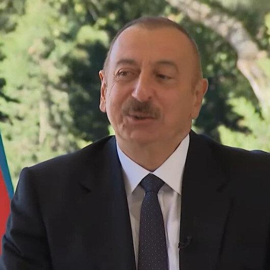 Aliyevden Fransız gazetecinin Kaç Türk İHAnız var? sorusuna cevap: Yeteri kadar