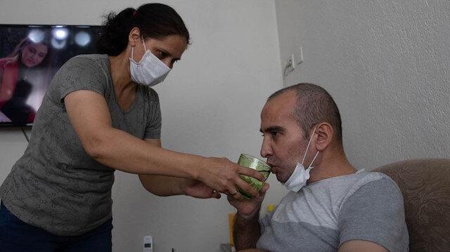 Doktorların 'mucize' dediği koronavirüs hastası 2 aylık entübe sürecini anlattı