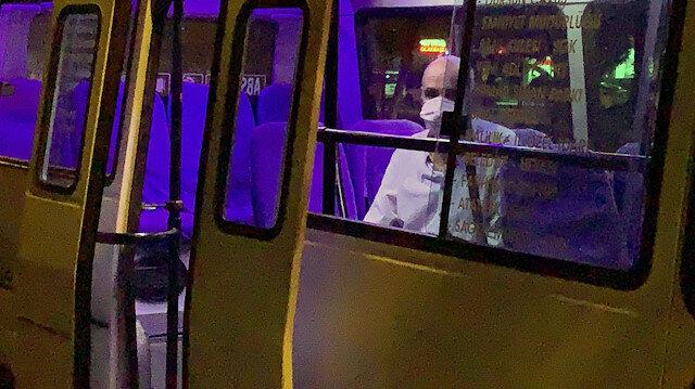 Karantinayı ihlal eden koronavirüs hastasını yakınları ihbar etti, minibüste yakalandı