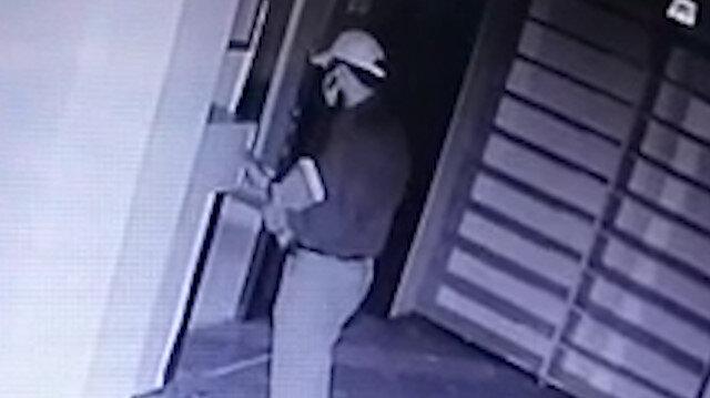 Amasya'daki camiden hırsızlık görüntüleri