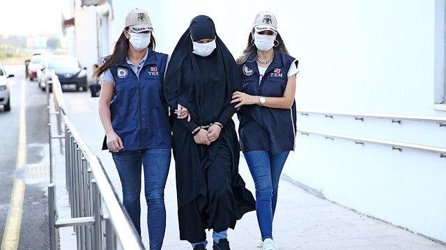 Kırmızı bültenle aranan DEAŞ üyesi Soumaya Raissi Adana'da yakalandı