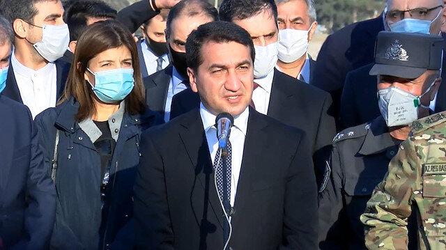 Azerbaycan Cumhurbaşkanı Yardımcısı: Düşmanlar zayıflıklarının hıncını sivil halktan aldı
