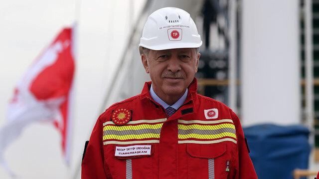 Cumhurbaşkanı Erdoğan'dan doğalgaz paylaşımı: Bereketli olmasını diliyorum