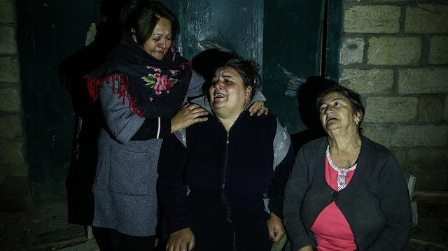 """Uykudayken füzeyle vuruldular: """"Ermenistan sivillerden intikam alıyor"""""""