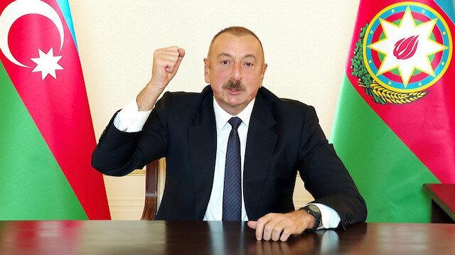 Azerbaycan Cumhurbaşkanı İlham Aliyev: Ermenistan'a cevabı savaş meydanında mertçe vereceğiz