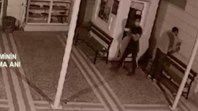 Gaziantep'te camiden musluk çalan hırsızlar kamerada