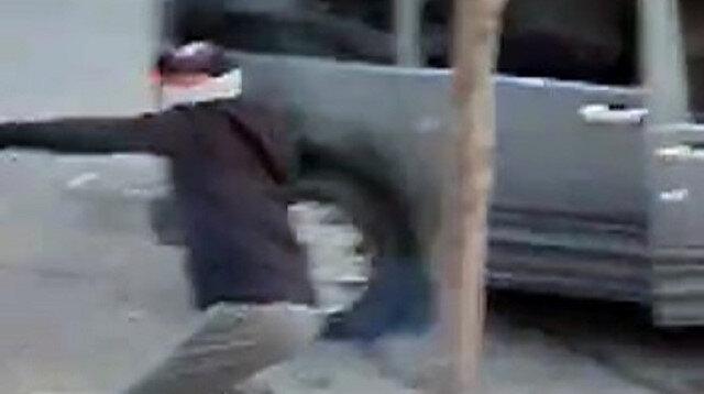 Esenyurt'ta hırsızlar, kendisini uyaran vatandaşları taşladı