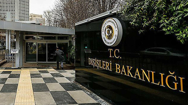 Dışişleri Bakanlığından Ersin Tatar'a tebrik mesajı