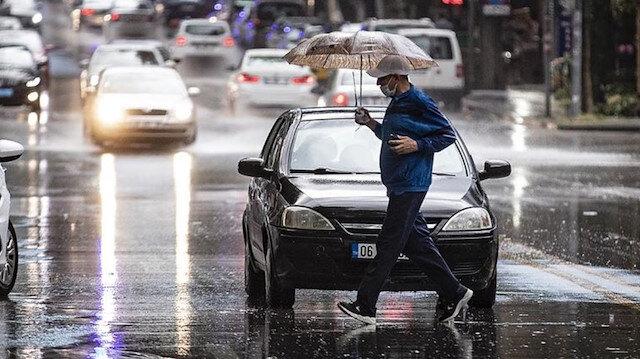 İç Ege için kuvvetli yağış uyarısı