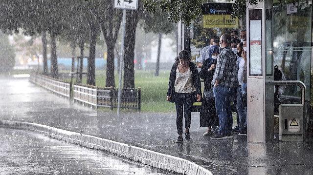 Meteorolojiden yarın için 57 ile yağış uyarısı yapıldı