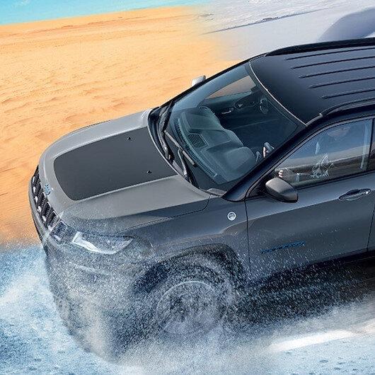 Jeep'in yeni modeli Compass 4xe Türkiye'de
