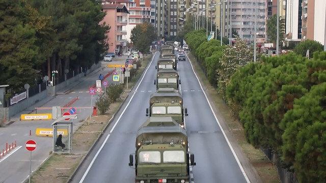 Sinop'ta testleri başarıyla tamamlayan ikinci S-400'de dönüş yoluna geçti