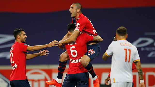 Milli yıldızlarımız coştu, Lille farklı kazandı (ÖZET)