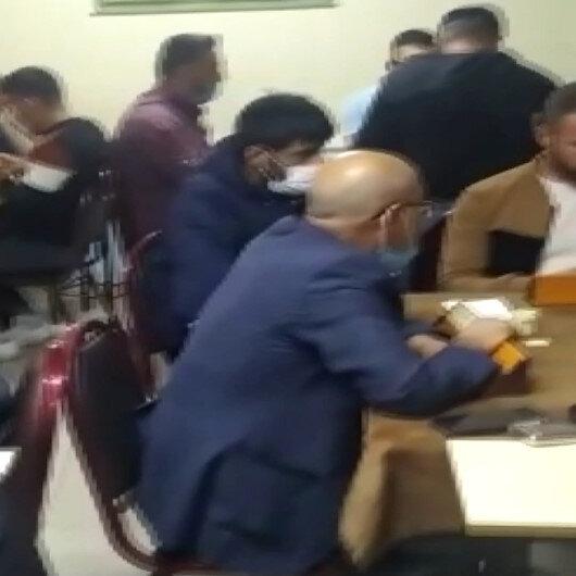 Esenyurtta koronavirüs tedbirlerine uymayarak okey masasında yakalanan 37 kişiye ceza yağdı