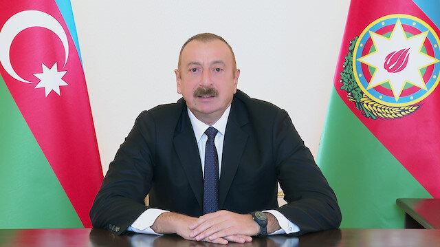 Azerbaycan Cumhurbaşkanı Aliyev işgalci Ermenistan'dan ele geçirilen ganimetleri tek tek açıkladı