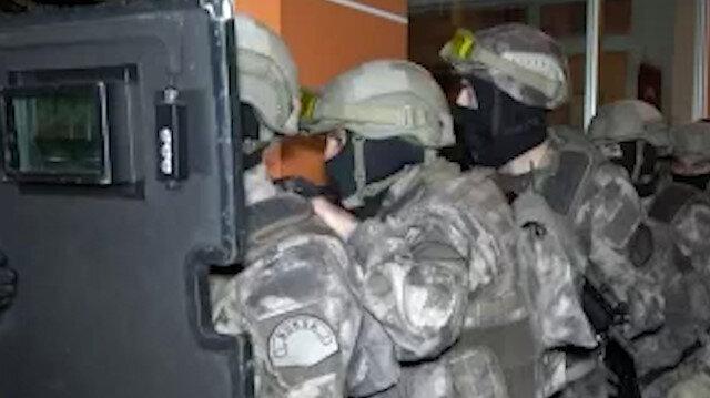 Bursa'da uyuşturucu tacirlerine şafak operasyonu