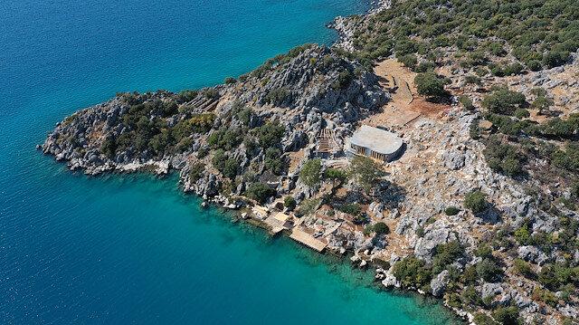 Antalya'da tepki çeken villa inşaatı: Gören CİMER ve belediyeye şikayet ediyor