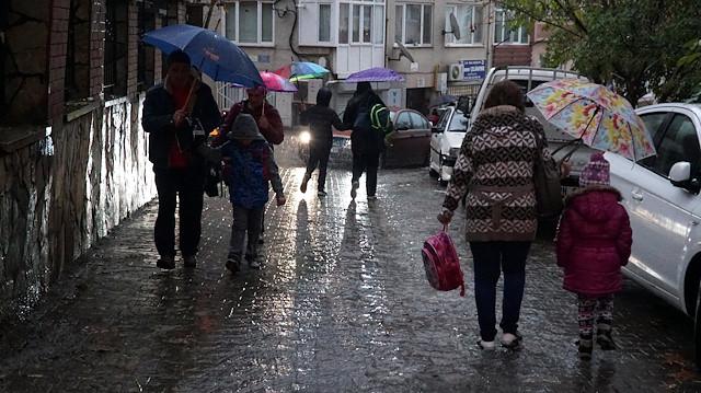 Meteoroloji son tahminlerini açıkladı: 57 ile yağış uyarısı