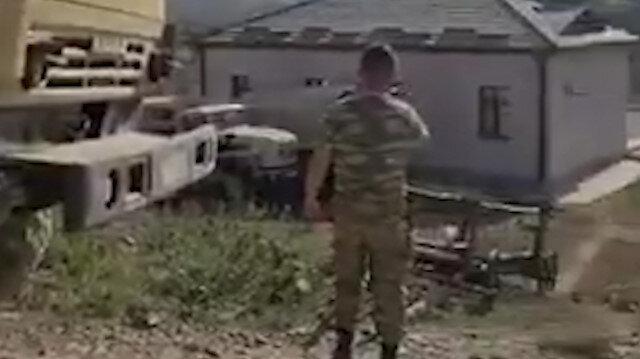 Azerbaycan askerleri Ayasofya ezanını Karabağ'da yankılandırdı