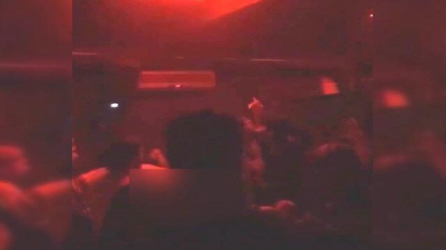 Sakarya'da korona partisi kamerada: Sosyal medyada yayınlanan görüntülere tepki yağdı