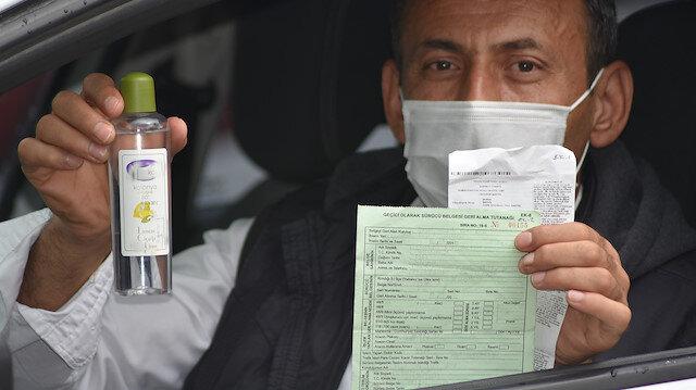 ''Hayatımda alkole el uzatmadım'': Sürücü 0.56 promil alkollü çıktı, kullandığı kolonyadan olduğunu iddia etti