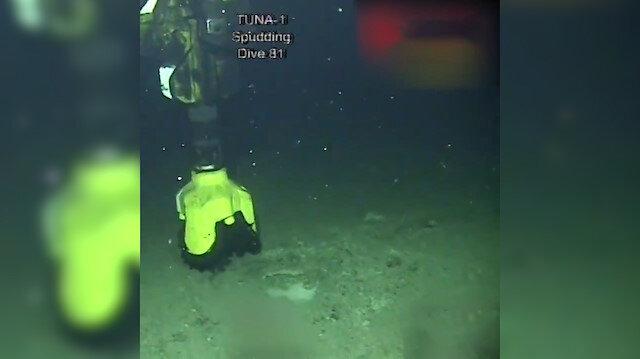 Türkiye Petrolleri'nden tarihi paylaşım: Tuna-1 Kuyusu'ndan görüntüler paylaşıldı