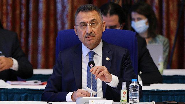 Cumhurbaşkanı Yardımcısı Fuat Oktay'dan bütçe sunumu: Aslan payı eğitim ve sağlığın