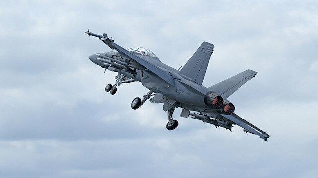 ABD'de savaş uçağı eğitim uçuşunda düştü