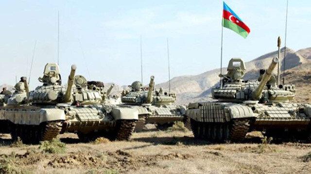 Azerbaycan ordusu ilerliyor: 21 köy ve 1 kasaba kurtarıldı