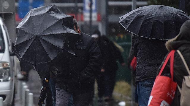Meteorolojiden İstanbul ve 23 ile yağış uyarısı